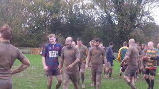 Muddy day at Newick
