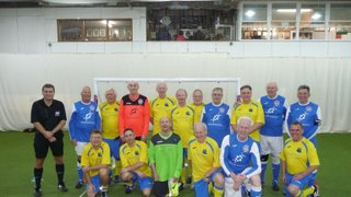 The Dambusters v Bournemouth Walking Football Club - 1st January 2016