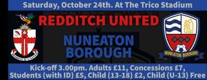 Match Preview  - Redditch Utd v Boro