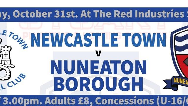 NEXT GAME - Newcastle Town v Boro - FA Trophy