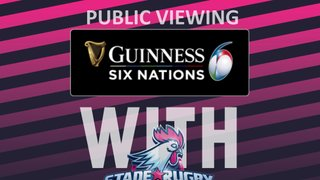 It's round 4 of the 6 Nations Tournament!