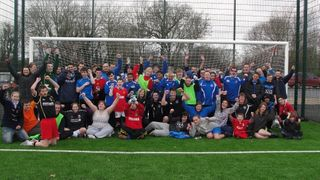 Casuals Training Session 22.1.12 on new 3G pitches