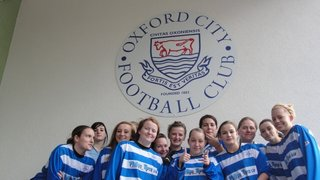 Oxford City Ladies 1st Team Squad 22.1.12