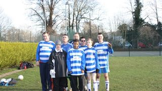 Oxford City Casuals at Marlow in BOBi League Tournament 15.1.12