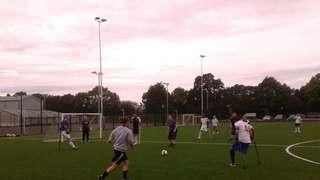 Oxford City Ladies v Amputees Football Team