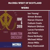 Twenty20 Cricket: McCrea West of Scotland vs Weirs