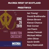 McCulloch Cup Quarter Final: McCrea West of Scotland vs Prestwick