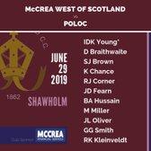 Poloc vs McCrea West of Scotland