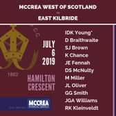 McCrea West of Scotland vs East Kilbride