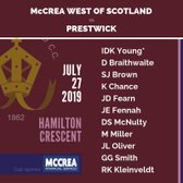 McCrea West of Scotland vs Prestwick
