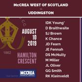 McCrea West of Scotland vs Uddingston