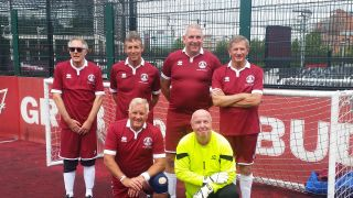 Walking Football v National League Trust - Sun 14 Aug 2016