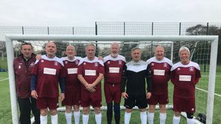 Walking Football 60 first round