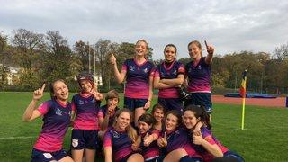 Power Girls - 2ter Platz in Prague Youth Rugby Festival 2017