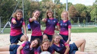 Power Girls - Erste Platz - Beach Rugby Tournament