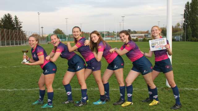Stade Rugby U18 Girls win Prague Youth Rugby Festival Tournament