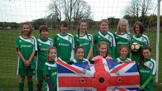 U14 v Chesham United Ladies U14 - Sat  5 Nov 2016