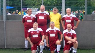 Walking Football Over 50's Tournament at Margate Football CLUB