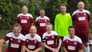 Clarests Walking Football Four Wins - Blues Four Lost