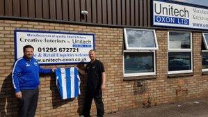 Unitech become Under 18s Kit Sponsor