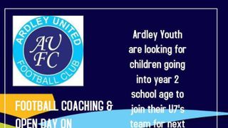 New U7s Players Needed