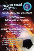 New Youth Players Needed