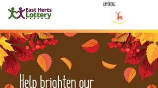 East Herts Lottery Flyer