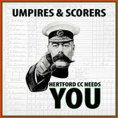 Hertford CC - Umpires & Scorers Plea