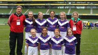 MRFC Girls U 14 Aviva Stadium