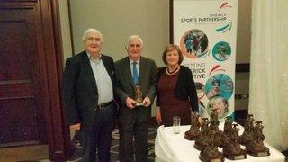 Pat Cotter receives Limerick Service to Sport Awards