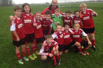 U11s sponsored by CHATTERBOX