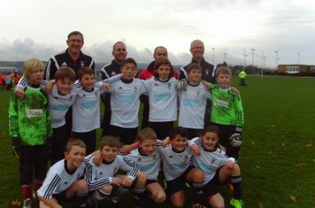 U11s With coaches Taylor and Dittrich