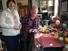 CAKES and COFFEE MORNING Rose Glen Far Lane 10am TODAY