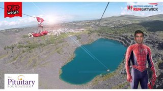 Nirmal's(Sunny's ) Fastest/Longest Zipline in Europe - He Did it