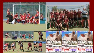 19th October fixtures and social