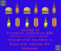Second XI Promotion celebration BBQ