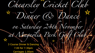 2018 Chearsley CC Dinner @ Magnolia
