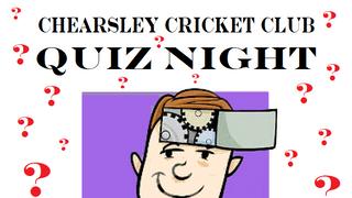 Chearsley CC Quiz Night