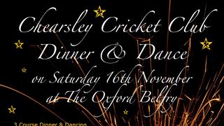 Chearsley CC Dinner & Dance 2019