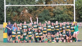 Barnes Ladies 1st XV 67 - 14  Rosslyn Park Slingbacks