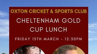 Cheltenham Gold Cup Lunch