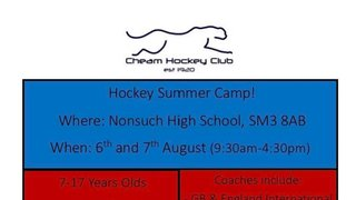 Junior Summer Training Camp - UPDATE