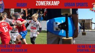 Het 1ste  Rugby zomerkamp komt eraan