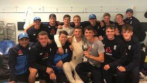 Luke features again as England U19s win SA Test Series