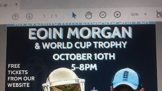 Eoin Morgan and the Cricket World Cup