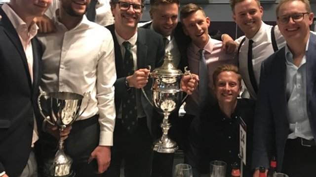 Silverware for the Midd at Lords