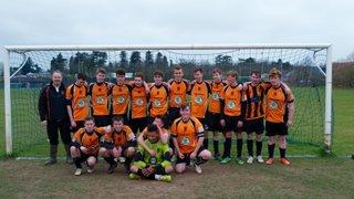 Hearts Lions U17 Champions!