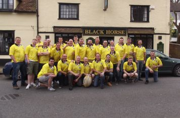 Black Horse RFC - Up The Dirt Track Tour 2014. 1st tour for years to Great Yarmouth