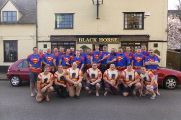 Black Horse RFC - Having a Mare Tour 2015. Tour to Weston Super Mare