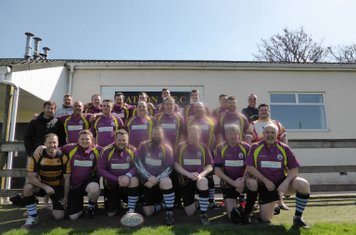 Black Horse RFC - Having a Mare Tour 2015. Pre-match picture at Yatton RFC